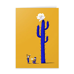 Stationary cards at Society6.com