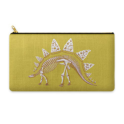 Pizzasaurus Awesome illustrated pouch